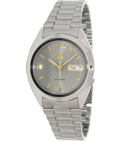 Seiko Men's 5 Automatic SNXL89K Grey Stainless-Steel Automatic Watch