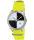 Nixon Men's Quad A3441262 Yellow Nylon Quartz Watch - Main Image Swatch