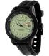 Nautica Men's Nmx601 N17618G Black Silicone Quartz Watch - Main Image Swatch