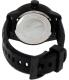 Nautica Men's Nmx601 N17618G Black Silicone Quartz Watch - Back Image Swatch