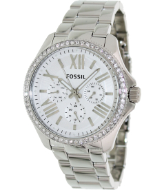 Fossil Women's Cecile AM4481 White Stainless-Steel Quartz Watch