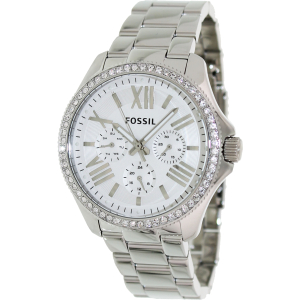 Fossil Women's Cecile AM4481 Silver Stainless-Steel Quartz Watch