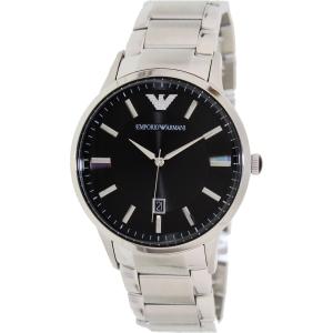 Emporio Armani Men's Sportivo AR2457 Silver Stainless-Steel Analog Quartz Watch