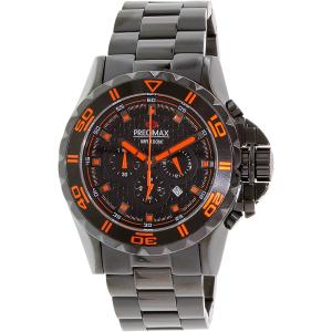 Precimax Men's Carbon Pro PX13232 Black Stainless-Steel Quartz Watch