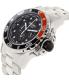 Precimax Men's Carbon Pro PX13235 Silver Stainless-Steel Quartz Watch - Side Image Swatch