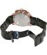 Swiss Precimax Men's Deep Blue Pro III SP13133 Black Stainless-Steel Swiss Chronograph Watch - Back Image Swatch