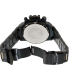 Swiss Precimax Men's Forge Pro SP13242 Black Stainless-Steel Swiss Chronograph Watch - Back Image Swatch