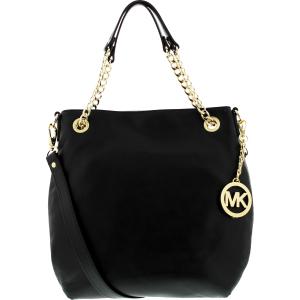 Michael Kors Women's Medium Jet Set  Bag Leather Shoulder Tote