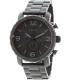 Fossil Men's Nate JR1401 Black Stainless-Steel Quartz Watch - Main Image Swatch