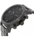 Fossil Men's Nate JR1401 Black Stainless-Steel Quartz Watch - Side Image Swatch