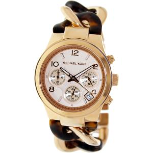 Michael Kors Women's Runway MK4269 Rose-Gold Stainless-Steel Quartz Watch