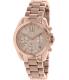 Michael Kors Women's Bradshaw MK5799 Rose-Gold Stainless-Steel Analog Quartz Watch - Main Image Swatch