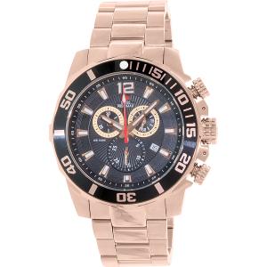 Swiss Precimax Men's Crew Pro SP13257 Rose Gold Stainless-Steel Swiss Chronograph Watch