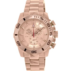 Swiss Precimax Men's Crew Pro SP13258 Rose-Gold Stainless-Steel Swiss Chronograph Watch