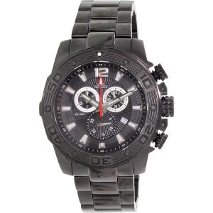 Swiss Precimax Men's Legion Pro SP13262 Black Stainless-Steel Swiss Chronograph Watch