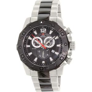 Swiss Precimax Men's Legion Pro SP13270 Silver Stainless-Steel Swiss Chronograph Watch