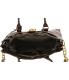 Open Box Michael Kors Women's Large Hamilton Walnut Embossed Tote Shoulder - Back Image Swatch