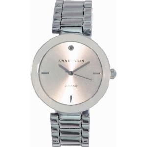 Anne Klein Women's AK-1363SVSV Silver Stainless-Steel Analog Quartz Watch