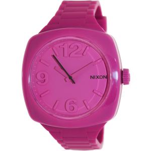Nixon Women's Dial A265644 Pink Silicone Quartz Watch