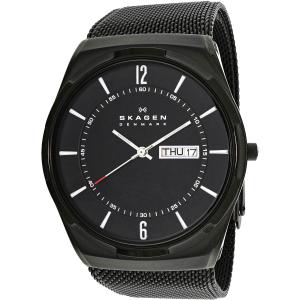 Skagen Men's Aktiv SKW6006 Black Stainless-Steel Quartz Watch