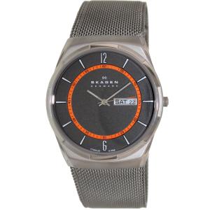 Skagen Men's Aktiv SKW6007 Grey Stainless-Steel Quartz Watch