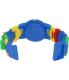 Lego Children's Time Teacher 9005008 White Plastic Quartz Watch - Back Image Swatch