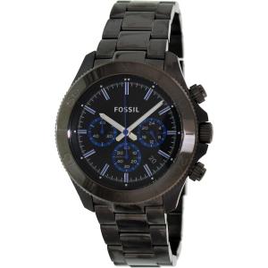 Fossil Men's Retro Traveler CH2869 Black Stainless-Steel Quartz Watch
