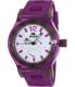 Rapp Men's Pink Naples RP2007 Purple Polyurethane Quartz Watch - Main Image Swatch
