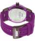 Rapp Men's Pink Naples RP2007 Purple Polyurethane Quartz Watch - Back Image Swatch