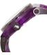 Rapp Men's Pink Naples RP2007 Purple Polyurethane Quartz Watch - Side Image Swatch