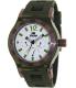 Rapp Men's Pink Naples RP2009 Green Polyurethane Quartz Watch - Main Image Swatch