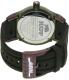 Rapp Men's Pink Naples RP2009 Green Polyurethane Quartz Watch - Back Image Swatch