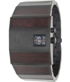 Nixon Men's Rotolog A0281107 Black Stainless-Steel Quartz Watch