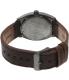 Nixon Men's Time Teller A0451388 Grey Leather Quartz Watch - Back Image Swatch