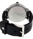Nixon Men's October A488000 Black Rubber Swiss Quartz Watch - Back Image Swatch