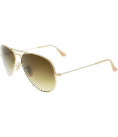 Ray-Ban Men's Aviator RB3025-112/85-58 Gold Aviator Sunglasses
