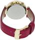 Michael Kors Women's Parker MK2297 Pink Leather Quartz Watch - Back Image Swatch