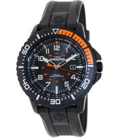 Timex Men's Expedition T49940 Black Plastic Analog Quartz Watch