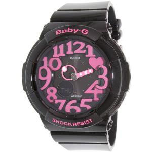 Casio Women's Baby-G BGA130-1B Black Resin Quartz Watch