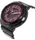 Casio Women's Baby-G BGA130-1B Black Resin Quartz Watch - Side Image Swatch