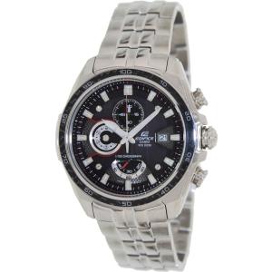 Casio Men's Edifice EF565D-1AV Silver Stainless-Steel Quartz Watch
