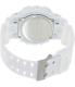 Casio Men's G-Shock GA120A-7A White Resin Quartz Watch - Back Image Swatch