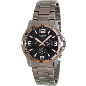 Casio Men's Classic MTP1299D-1AV Silver Stainless-Steel Quartz Watch