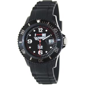 Ice-Watch Women's Fmif FM.SI.BK.U.S.11 Black Rubber Analog Quartz Watch