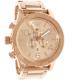 Nixon Men's 51-30 Chrono A083897 Rose-Gold Stainless-Steel Quartz Watch - Main Image Swatch