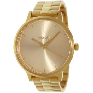 Nixon Women's Kensington A099502 Gold Stainless-Steel Quartz Watch