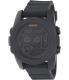 Nixon Men's Unit 40 A490001 Black Rubber Quartz Watch - Main Image Swatch