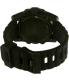 Nixon Men's Unit 40 A490001 Black Rubber Quartz Watch - Back Image Swatch