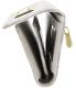 Michael Kors Women's Jet Set Checkbook Wallet PVC Clutch Baguette - Side Image Swatch