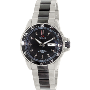 Precimax Men's Propel Automatic PX13196 Silver Stainless-Steel Automatic Watch